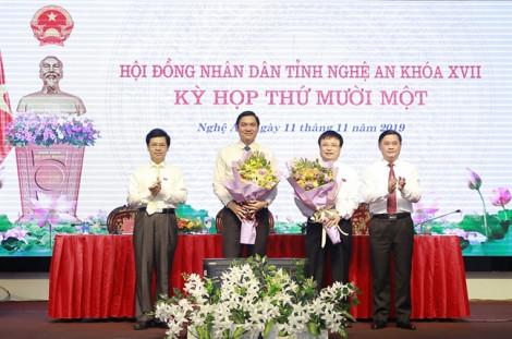 Bí thư Huyện ủy Nam Đàn làm phó chủ tịch UBND tỉnh Nghệ An