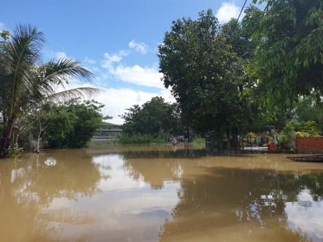 Hàng trăm hộ dân ở Phú Yên bị lũ cô lập sau bão