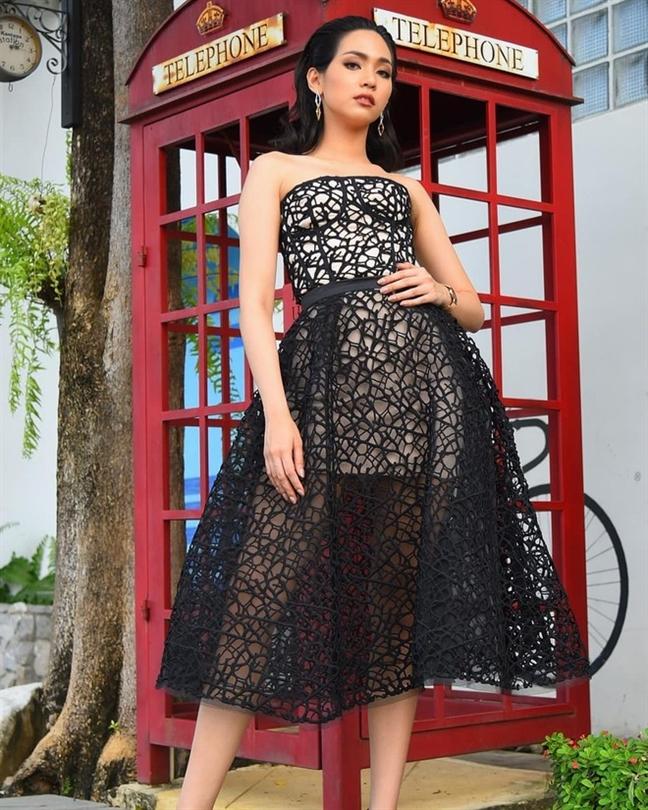 Nhan sac xinh dep cua Tan Hoa hau Quoc te 2019