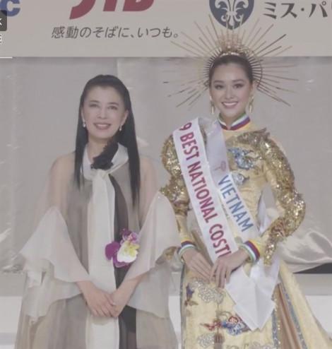 Gặp sự cố trước giờ G, đại diện Việt Nam vẫn thắng giải trang phục truyền thống tại 'Hoa hậu Quốc tế 2019'