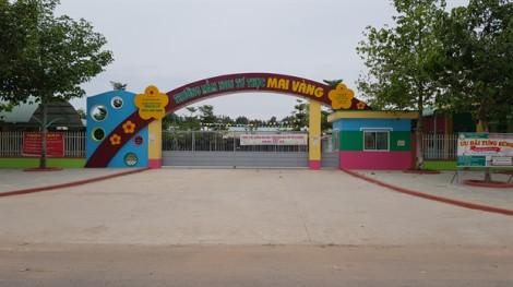 Đình chỉ hoạt động trường mầm non có cô giáo bị tố dùng vật nhọn đâm trẻ