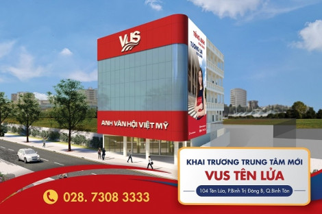 Thêm địa điểm học tiếng Anh tại Bình Tân, lựa chọn tiếng Anh chuẩn quốc tế ngay gần nhà