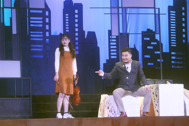 Dua van de xa hoi len san khau: Moi nhung chua sau