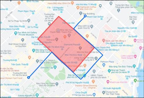 Từ tối nay (14/11) cấm lưu thông nhiều tuyến đường trung tâm TP.HCM