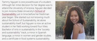 Một sinh viên gốc Việt ở Mỹ dự hội nghị COP25