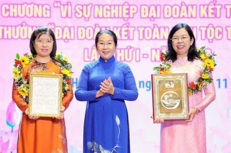 Hội Liên hiệp Phụ nữ TP.HCM nhận Giải thưởng 'Đại đoàn kết toàn dân tộc TP.HCM' lần thứ I năm 2019