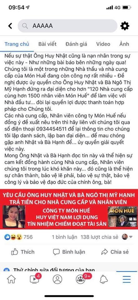 Nha cung cap den nha rieng bac loa doi no ong chu Mon Hue, doa mang theo quan tai