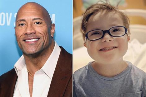 Dwayne Johnson hát, động viên cậu bé 3 tuổi mắc ung thư