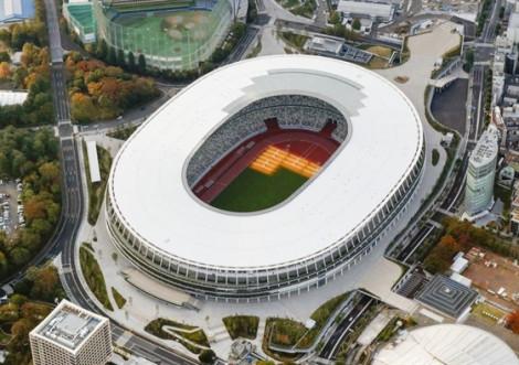 Nhật Bản hoàn thành sân vận động quốc gia cho Olympic 2020