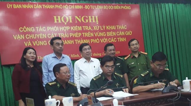 TP.HCM phat hien 'cat tac', Dong Nai bao doi tuong chi dang 'khao sat tham do'