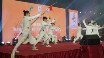 Đoàn thể thao Việt Nam tham dự SEA Games tưng bừng ngày họp mặt