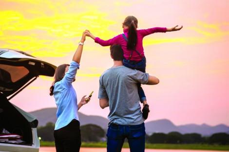 Vợ hạnh phúc thì gia đình ấm êm, con cái ít mắc bệnh tâm lý