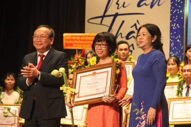 TP.HCM vinh danh 50 nha giao doat giai Vo Truong Toan