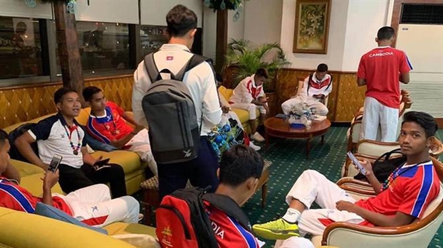 Philippines xin loi vi cong tac don tiep cac doan the thao SEA Games qua 'be'