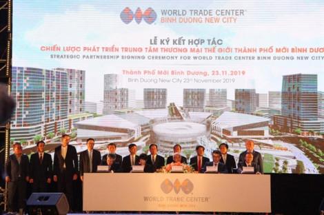 Trung tâm Thương mại Thế giới tại Bình Dương kết nối với metro TP.HCM
