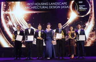 """Asia Property Awards 2019: Verosa Park - Khang Điền được vinh danh tại hạng mục """"Thiết kế kiến trúc cảnh quan nhà ở xuất sắc nhất"""""""