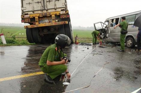 Vụ tai nạn giao thông khiến 3 người chết, 10 người bị thương: Phát hiện lơ xe dương tính ma tuý