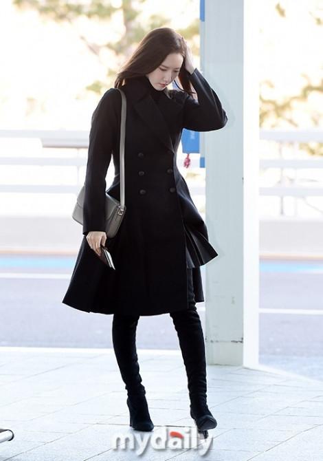 Jang Dong Gun, Yoona đượm buồn ra sân bay sang Việt Nam