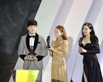 Bích Phương thắng giải 'Nghệ sĩ Việt Nam xuất sắc nhất'