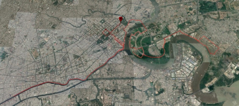 Cấm xe nhiều tuyến đường trung tâm TP.HCM phục vụ Giải Marathon Quốc tế
