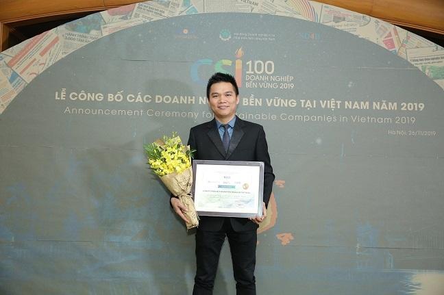 Herbalife Viet Nam lan thu 3 lien tiep duoc trao giai thuong Doanh nghiep ben vung