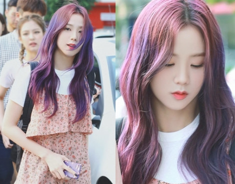 Sao Hàn hóa 'nữ thần' nhờ nhuộm tóc hồng