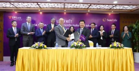 Sun Life Việt Nam và TPBank công bố thỏa thuận hợp tác phân phối bảo hiểm nhân thọ