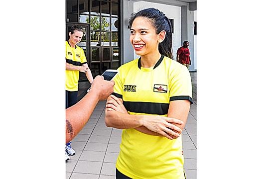 Chan dung hoàng tủ, cong chúa tài sác của Brunei o SEA Games 30