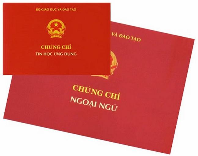 Chinh thuc 'khai tu' chung chi ngoai ngu A, B, C