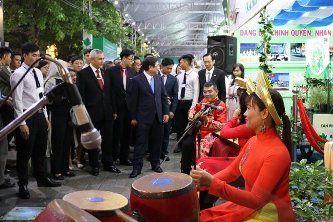 Don ca tai tu Nam bo hut khach tai duong di bo Nguyen Hue
