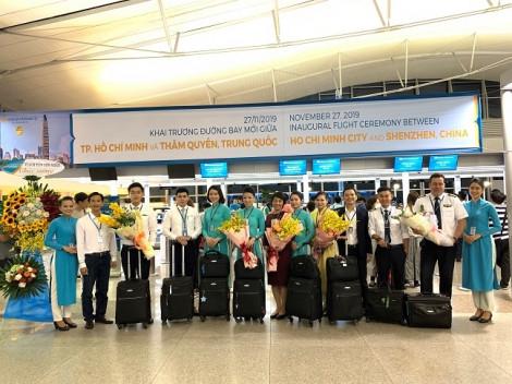 Vietnam Airlines khai trương đường bay giữa Việt Nam và Thâm Quyến