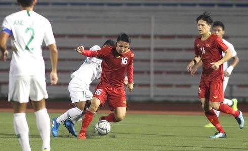 Thang thuyet phuc Indonesia voi ty so 2 - 1, Viet Nam dan dau bang B