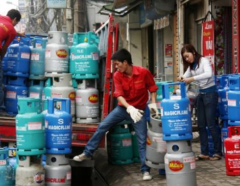 Giá gas bán lẻ tháng 12 tăng mạnh