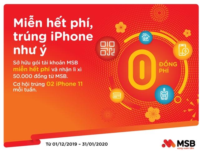 Giao dich thanh thoi, len doi iPhone cung MSB