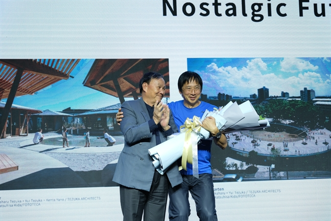 Su kien Architect Talk 2019 duoc TOTO Viet Nam to chuc lan thu 3 voi chu de 'Tuong lai hoai niem'