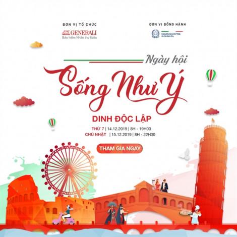 Generali Việt Nam phối hợp cùng đại sứ quán Ý ra mắt ngày hội 'Sống Như Ý'