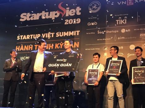 Ứng dụng tìm việc làm 'kiểu uber' thành quán quân startup Việt 2019
