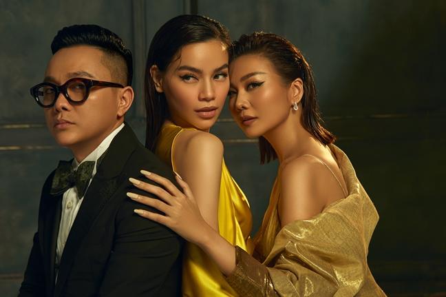 Ha Ho, Thanh Hang khoe dang voi trang phuc ruc ro