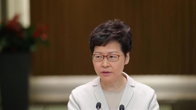 Lanh dao Hong Kong tuyen bo du luat cua My lam 'ton hai niem tin kinh doanh'