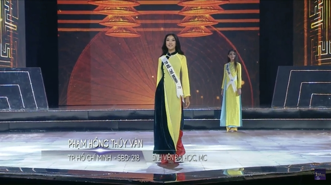 Thuy Van lo vong mot tai ban ket 'Hoa hau Hoan vu Viet Nam 2019'