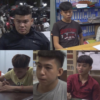 5 thanh thiếu niên giết người vì bị cầm dao truy đuổi