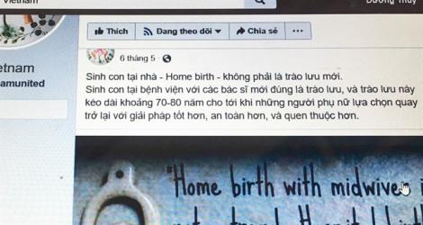Sinh con thuận tự nhiên tại bệnh viện, thật hay đùa?