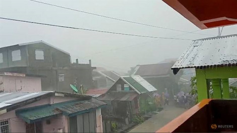 Bão Kammuri đổ bộ Philippines, làm ảnh hưởng hàng triệu người và SEA Games 30