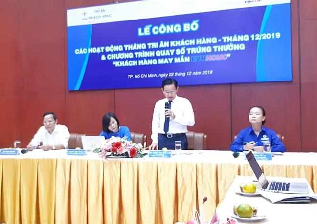 EVN HCMC danh 8 ty dong tri an khach hang