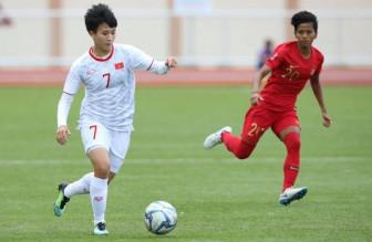 Hãy chờ tin chiến thắng của tuyển nữ Việt Nam ở Bán kết bóng đá nữ SEA Games 30