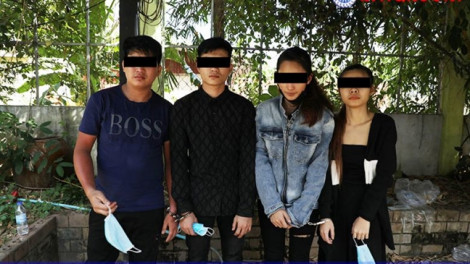 Campuchia bắt 4 người Việt sản xuất ma túy