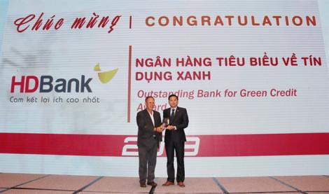 HDBank nhận giải 'Ngân hàng tiêu biểu về tín dụng xanh'