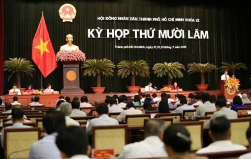 Ngày 7/12,  khai mạc  kỳ họp lần thứ 17 HĐND TP.HCM  khóa IX
