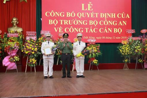 Bộ Công an điều động, bổ nhiệm tân giám đốc Công an tỉnh Đắk Nông, Đắk Lắk