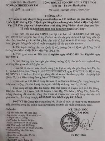 Cấm đường 'bảo kê' cho đoàn xe Vinfast: Hà Giang nợ người dân một lời xin lỗi!